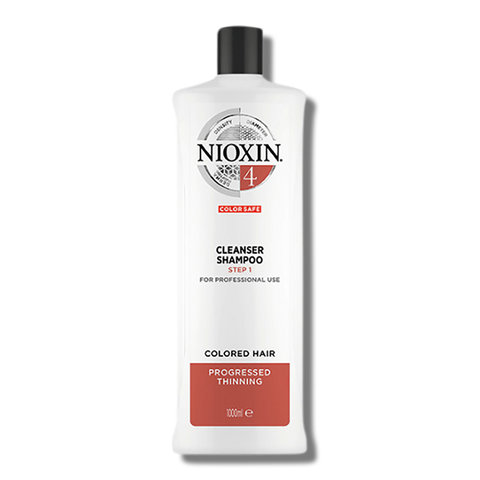 Nioxin System 4 Cleanser Shampoo - 1 Litre