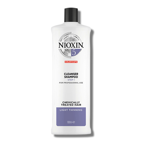 Nioxin System 5 Cleanser Shampoo - 1 Litre