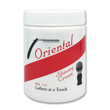 Oriental Shaving Cream 500g - Beautopia Hair & Beauty