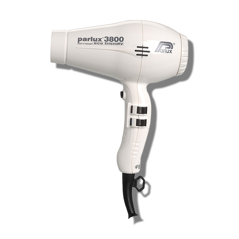 Parlux 3800 Ceramic & Ionic Hair Dryer - White-Parlux-Beautopia Hair & Beauty