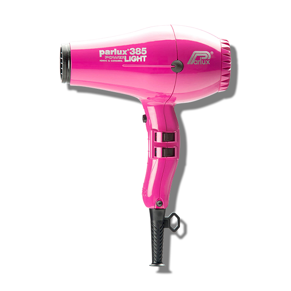 Parlux 385 Power Light Ceramic & Ionic Hair Dryer - Fuschia - Beautopia Hair & Beauty