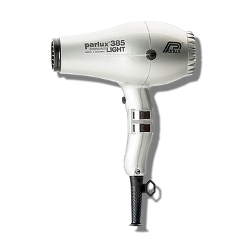 Parlux 385 Power Light Ceramic & Ionic Hair Dryer - Silver-Parlux-Beautopia Hair & Beauty