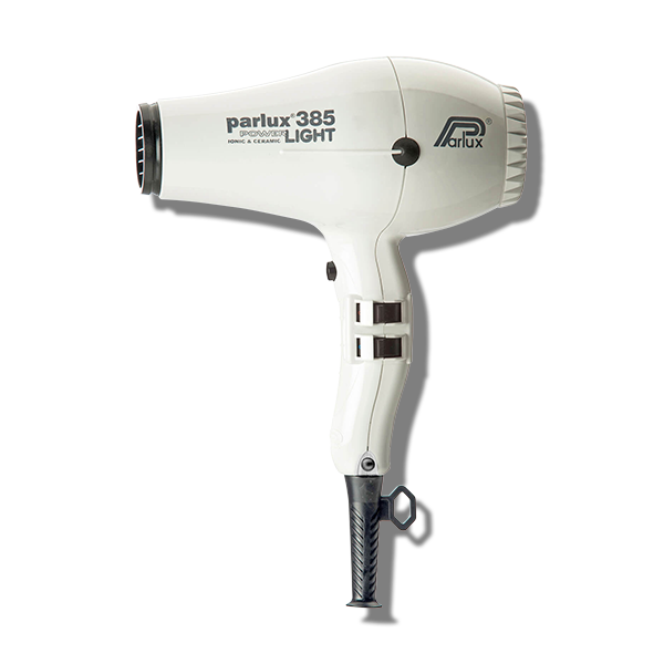Parlux 385 Power Light Ceramic & Ionic Hair Dryer - White-Parlux-Beautopia Hair & Beauty