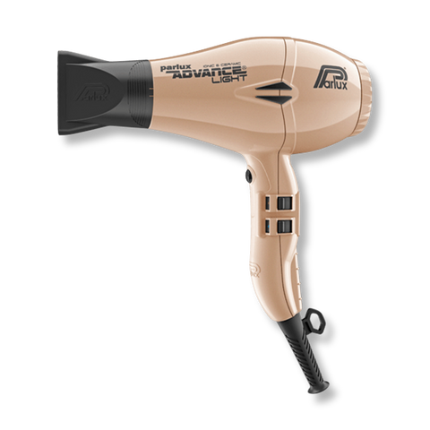 Parlux Advance Light Ionic & Ceramic Dryer - Light Gold-Parlux-Beautopia Hair & Beauty