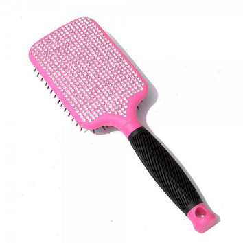 TI Creative Diamond Pink Paddle Brush