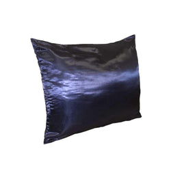 Betty Dain Standard Satin Pillow Case Navy