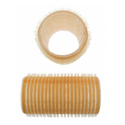 Santorini Velcro Rollers - Yellow 30mm - 12pk