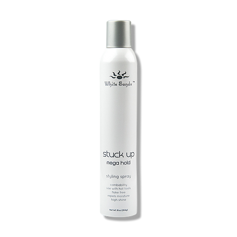 White Sands Stuck Up Mega Hold Hair Spray - 248g-White Sands-Beautopia Hair & Beauty