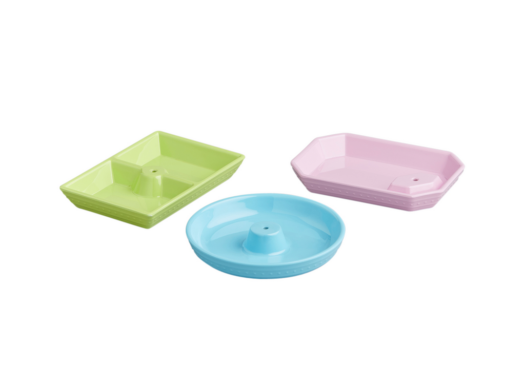 NF Set of 3 Melamine Dainty Dishes