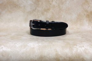 Calf Belt, Black 1 1/4""