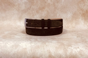 Hippo Belt, Brown 1 1/4""