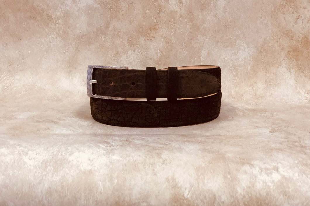 Hippo Belt, Brown 1 1/4