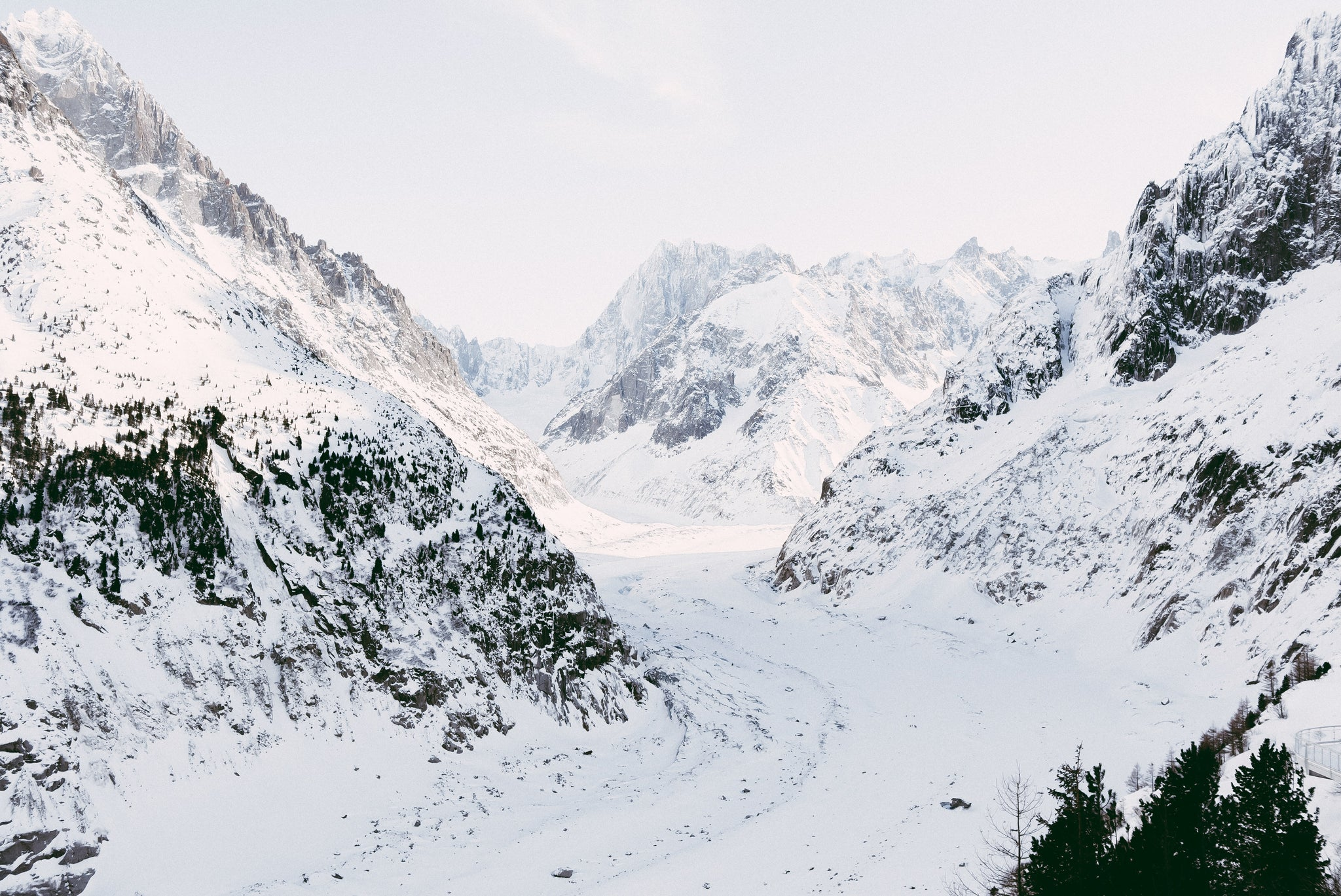 Mer de Glace: Stealing Beauty of French Alps