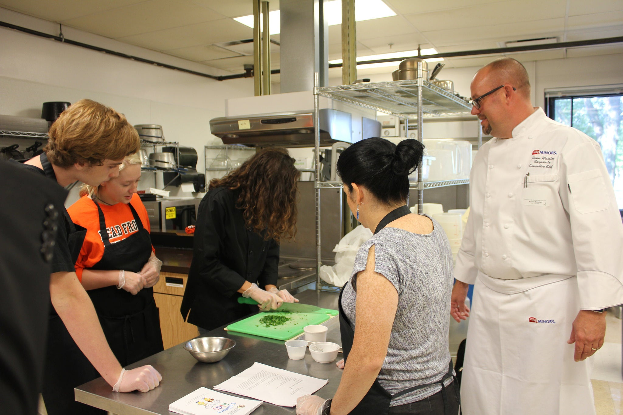 Young Chefs Culinary Camp June 2019, at Clarke in St Charles