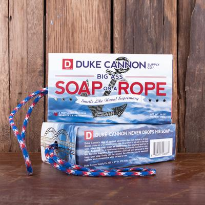 Smells Like Naval Supremacy Soap On A Rope - The Sock Dudes