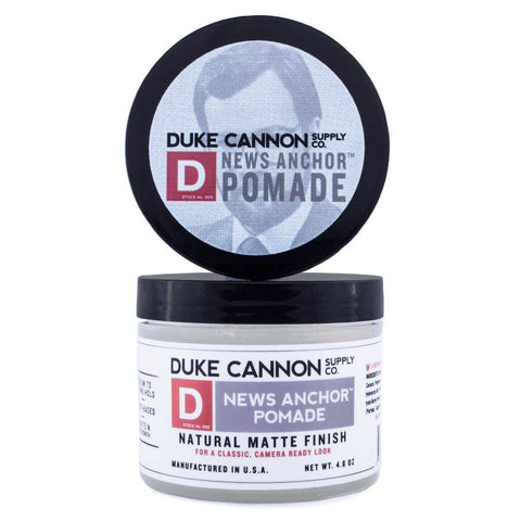 Duke Cannon - News Anchor Pomade - The Sock Dudes