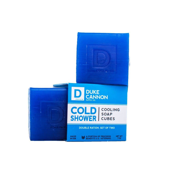 Duke Cannon - Cold Shower Cooling Soap Cubes - The Sock Dudes