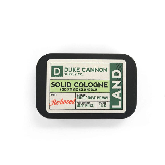 Duke Cannon - Solid Cologne - Land - The Sock Dudes
