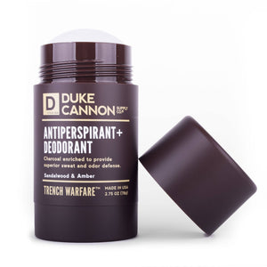 Duke Cannon - TRENCH WARFARE A/P + DEODORANT (SANDALWOOD & AMBER) - The Sock Dudes