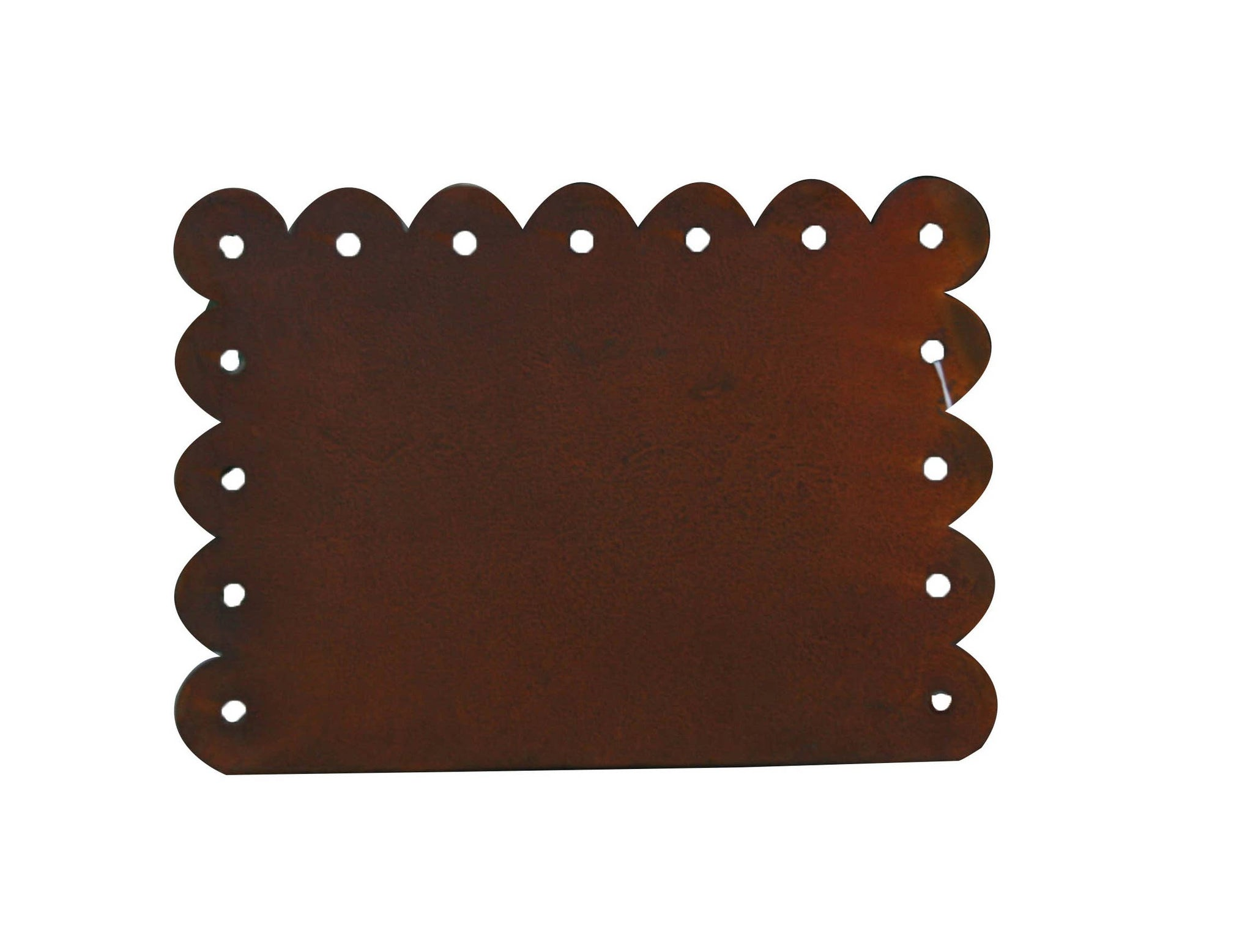Horizontal Rusty Magnetic Picture Frames