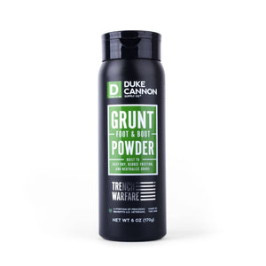 Duke Cannon - Grunt Foot & Boot Powder - The Sock Dudes