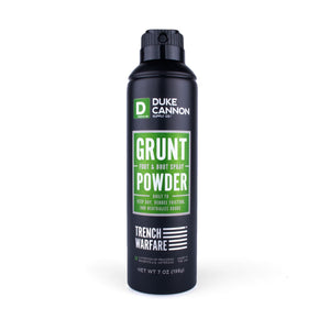 Duke Cannon - Grunt Foot & Boot Powder Spray - The Sock Dudes