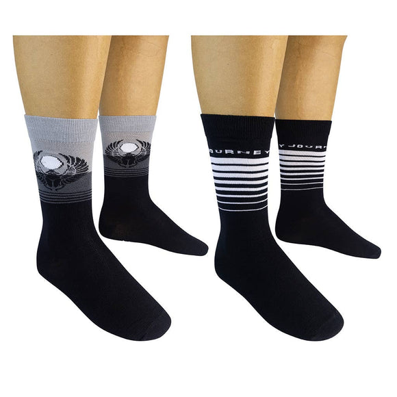Funatic Socks - JOURNEY Socks (2-pk) - The Sock Dudes