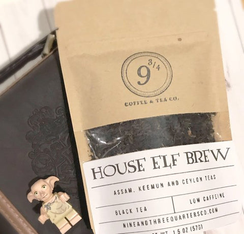 Nine and Three Quarters Coffee & Tea - House Elf Brew - The Sock Dudes