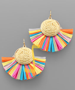Party Girl Fan Earrings