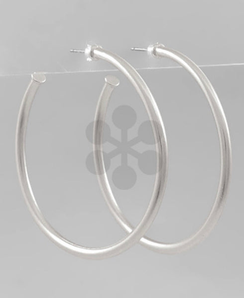Metal Open Hoops