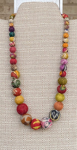 Aasha Bead Necklace