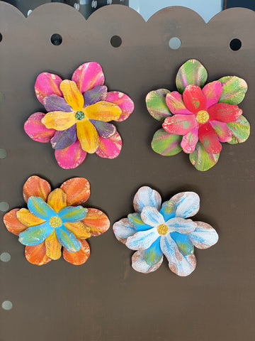 Watercolor Flower Magnet