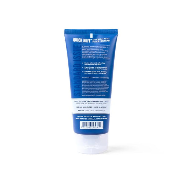 Duke Cannon- Quick Buff Siberian Mint Face Scrub - The Sock Dudes