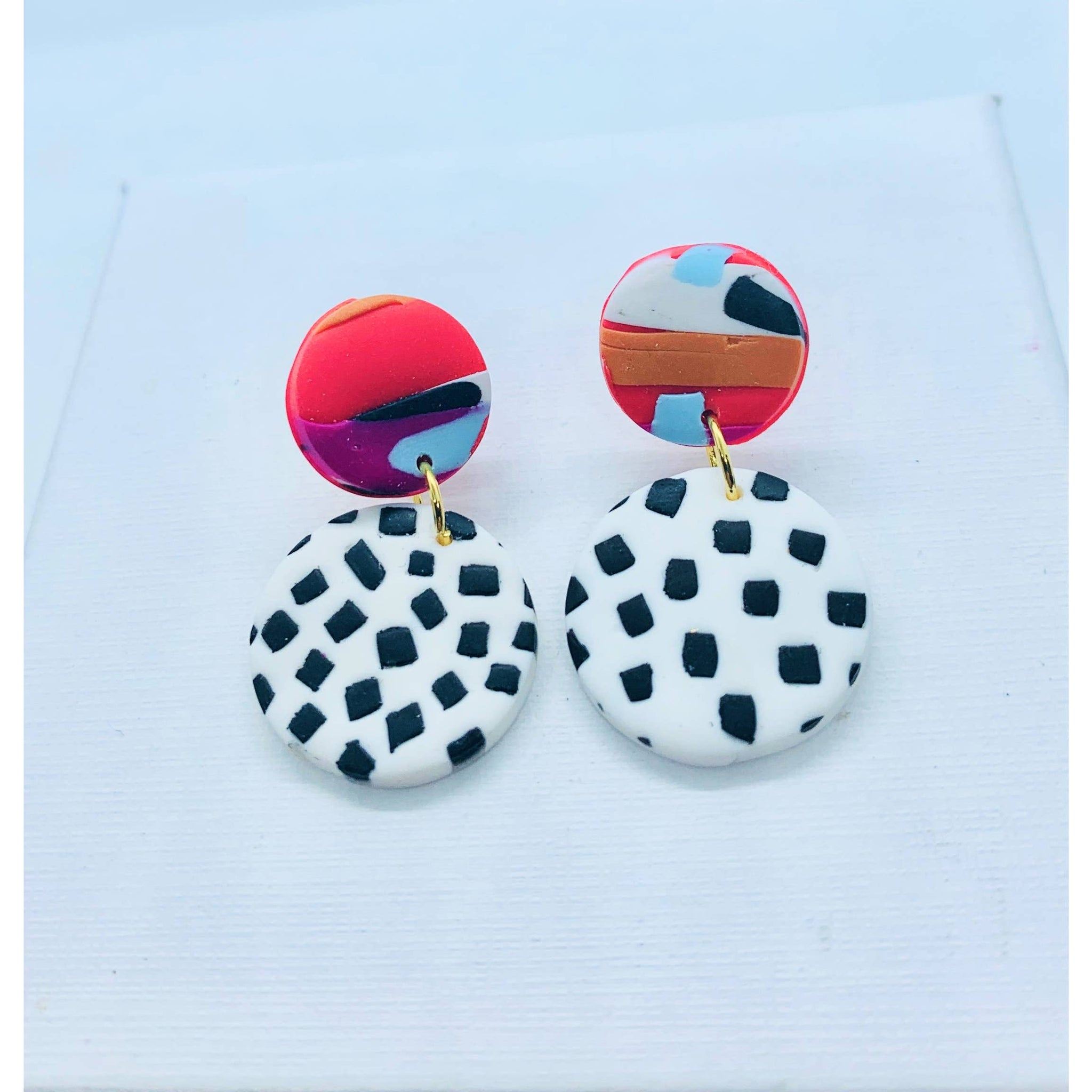 Cruella Earrings Mini Dotty Drop