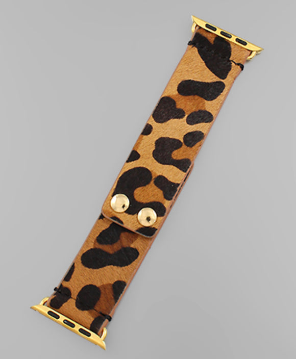 Leopard Print Watch Band - The Sock Dudes