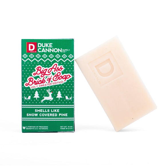 Duke Cannon BA Ugly Sweater Snow Pine Soap