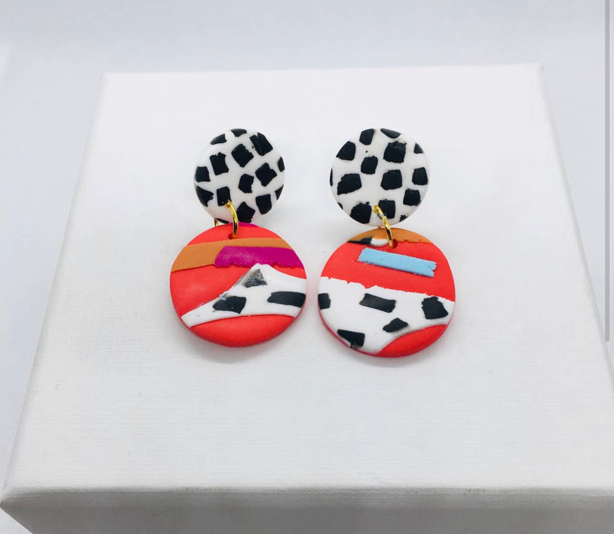 Cruella Earrings-Mini-Dotty/Stud