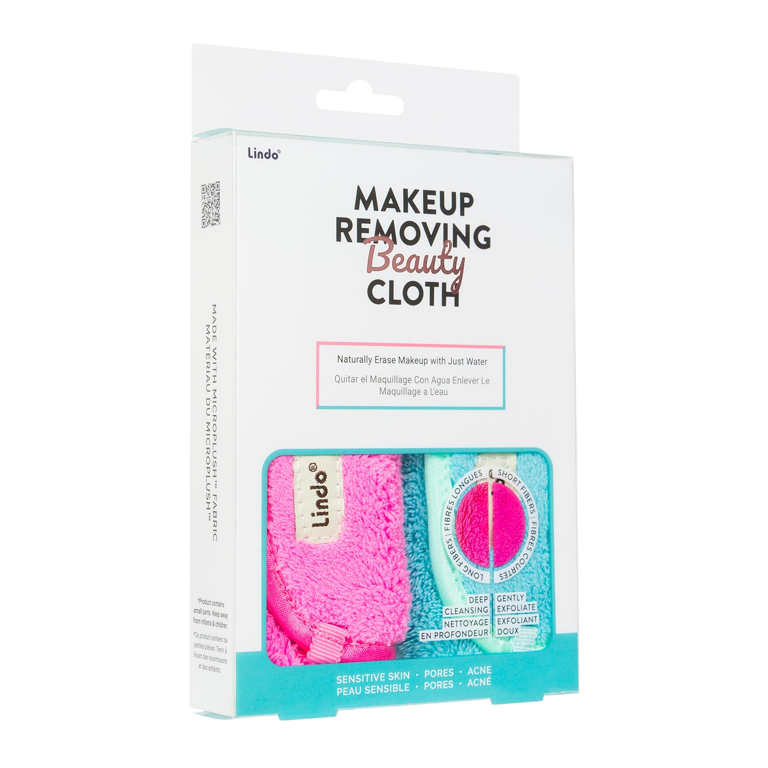 Makeup Removal Beauty Cloth- 2pack - The Sock Dudes