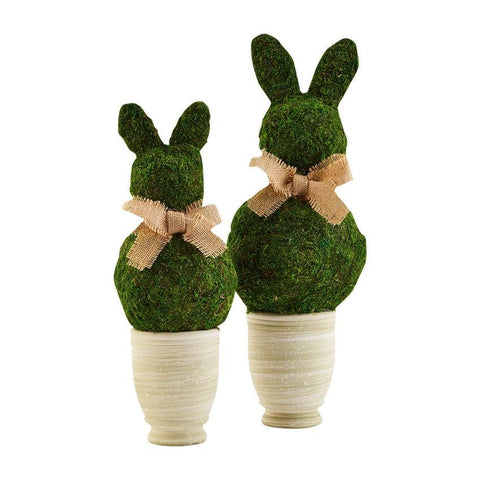 Preserved Moss Bunny Pot