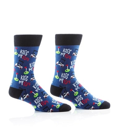 Kiss My Putt Socks