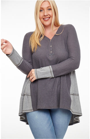 Uncomplicated Life Curvy Top