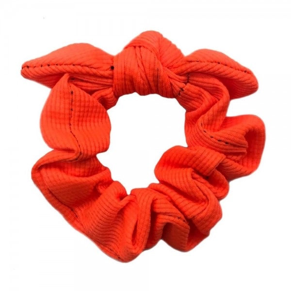 Neon Bow Scrunchy - The Sock Dudes