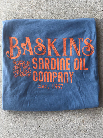 Baskin's Sardine Oil Tee - The Sock Dudes