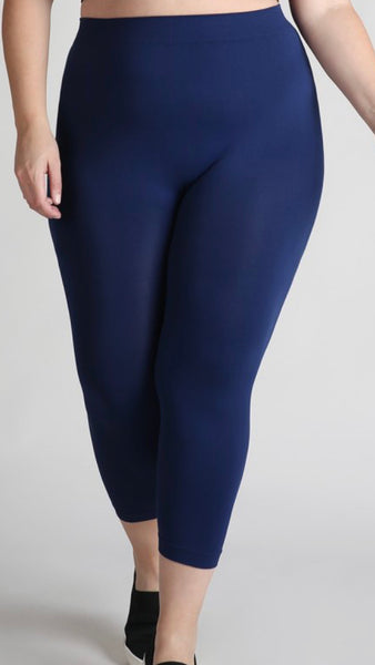 One Size Fits All Petite (Capri) Legging