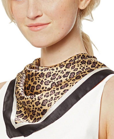Leopard Print Accessory Scarf