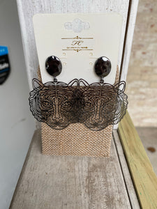 Filigree Tiger Earring