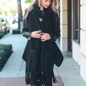 Oversized Pocket Scarf