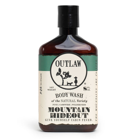 The Mountain Hideout Body Wash