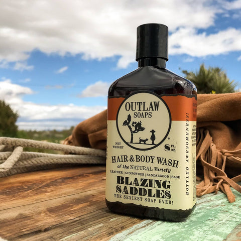 Blazing Saddles Natural Hair and Body Wash