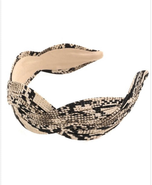 Snakeskin Headband - The Sock Dudes